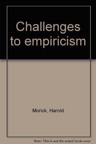 9780534001872: Challenges to empiricism