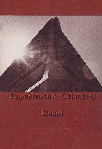 9780534004224: Experiencing geometry