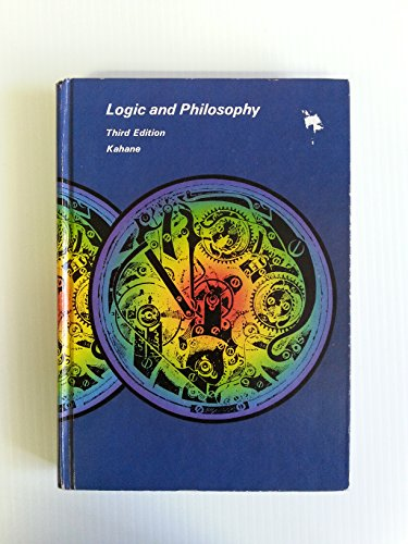 9780534005559: Logic and philosophy: A modern introduction