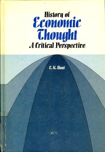 9780534005818: History of economic thought: A critical perspective