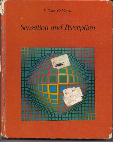 9780534007607: Sensation and Perception