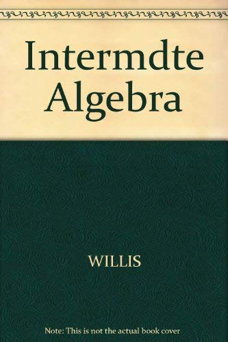 9780534008871: Intermediate Algebra