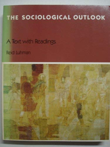 9780534010607: Sociological Outlook: A Text With Readings