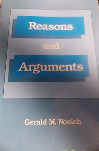 9780534010768: Reasons and Arguments