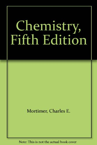 9780534011840: Chemistry, Fifth Edition