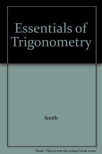 9780534012243: Essentials of Trigonometry