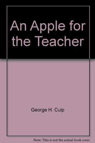 9780534013783: An Apple for the teacher: Fundamentals of instructional computing (Brooks/Cole series in computer education)