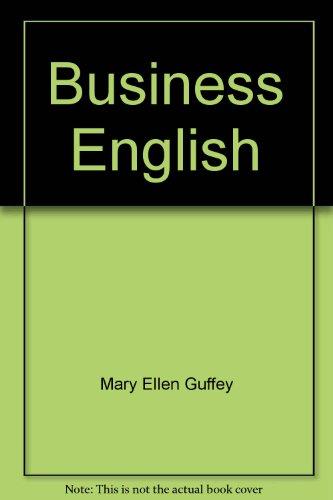 9780534013967: Business English