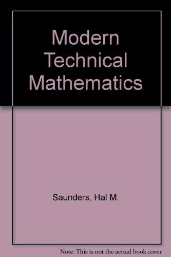 9780534027391: Modern Technical Mathematics