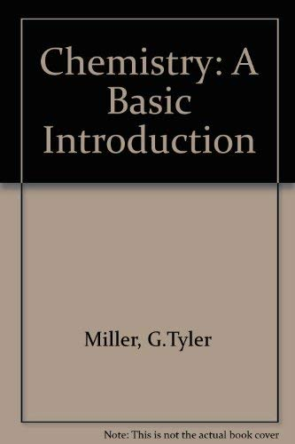 9780534027643: Chemistry: A Basic Introduction