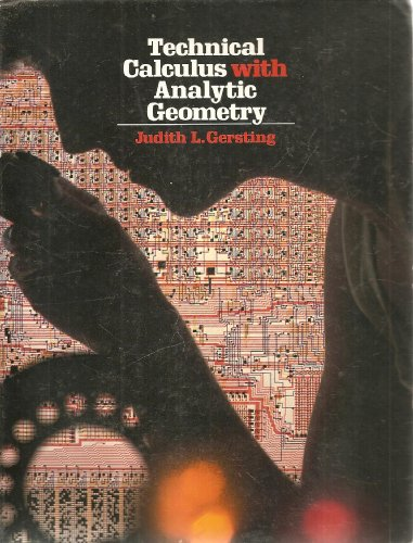 9780534028930: Technical Calculus With Analytic Geometry
