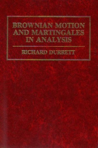 9780534030650: Brownian Motion and Martingales in Analysis (The Wadsworth Mathematics Series)