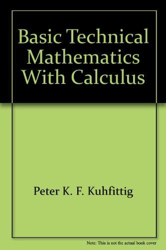 9780534031527: Basic Technical Mathematics with Calculus