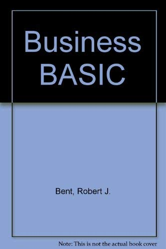 9780534031794: Business BASIC (Brooks/Cole series in computer science)