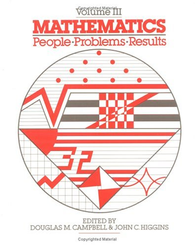 9780534032043: Mathematics: People - Problems - Results, Vol III