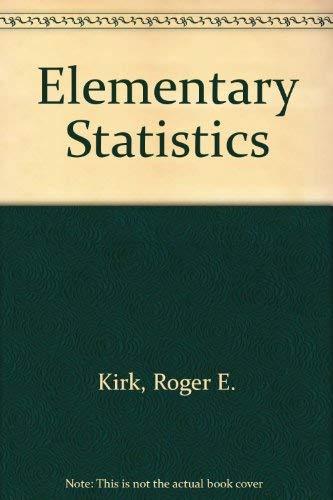 9780534032135: Elementary Statistics