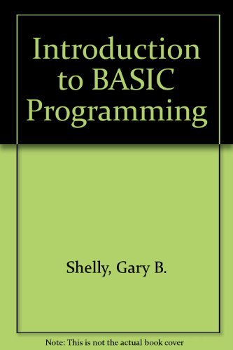 9780534032845: Introduction to BASIC Programming