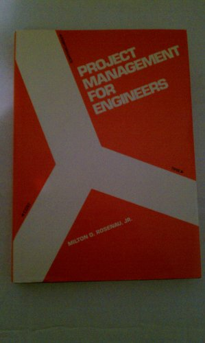 9780534033835: Project Management for Engineers