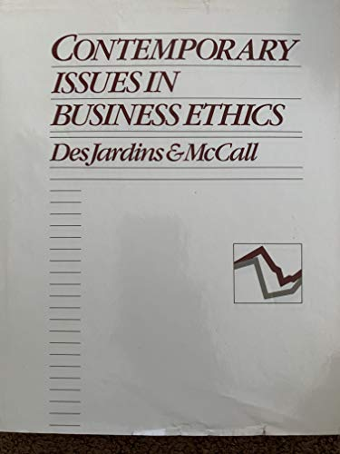 9780534036935: Contemp Issues Business Ethics