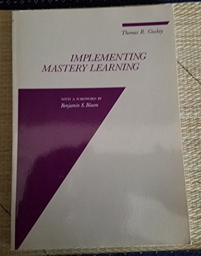 9780534040536: Implementing Mastery Learning