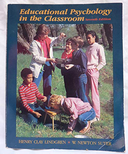 9780534042219: Educational Psychology in the Classroom