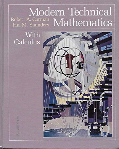 9780534043056: Modern Technical Mathematics with Calculus