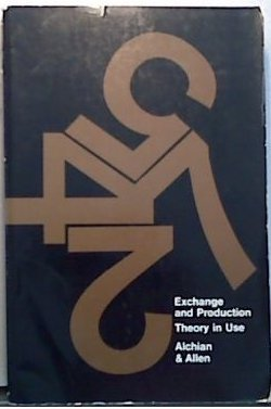 9780534043353: Exchange and Production: Theory in Use