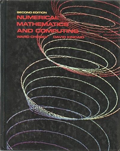 9780534043568: Numerical Mathematics and Computing