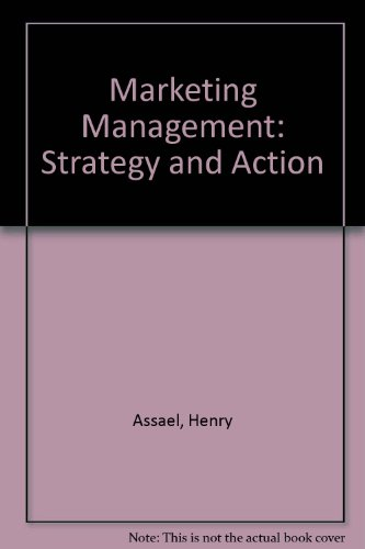 9780534047887: Marketing Management: Strategy and Action