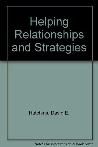 9780534050108: Helping Relationships and Strategies