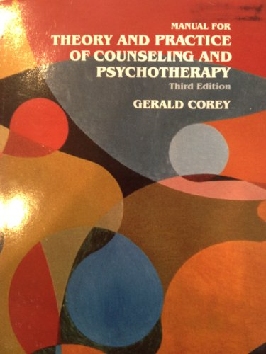 9780534050771: Theory and Practice of Counseling and Psychotherapy - Instructor's Edition