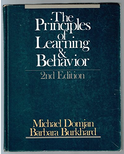 9780534052089: Principles of Learning and Behavior