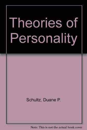 9780534055448: Theories of Personality