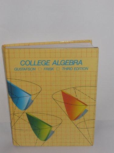 9780534056285: College algebra