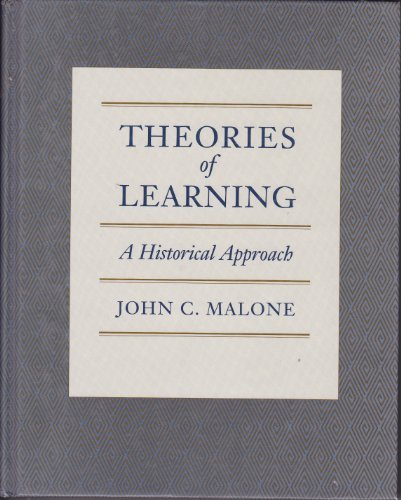9780534057602: Theories of Learning: A Historical Approach