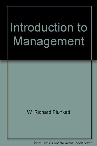 9780534057725: Introduction to management