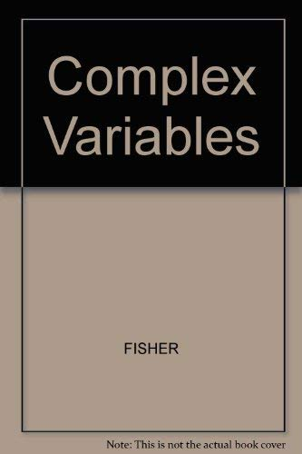 9780534061685: Complex variables (The Wadsworth & Brooks/Cole mathematics series)