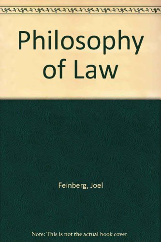Philosophy of Law [Mar 20, 1986] Feinberg,