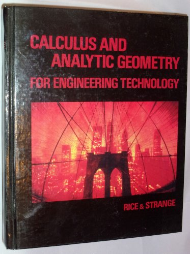 9780534063788: Calculus and Analytic Geometry for Engineering Technology