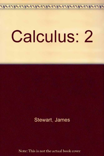 9780534066925: Calculus: Student Solutions Manual, Vol. 2