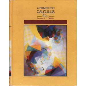 9780534067502: Primer for Calculus