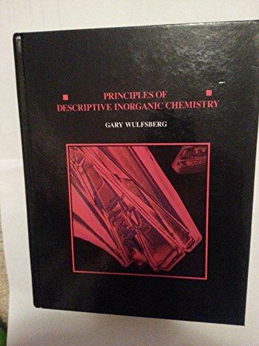 9780534074944: Principles of Descriptive Inorganic Chemistry