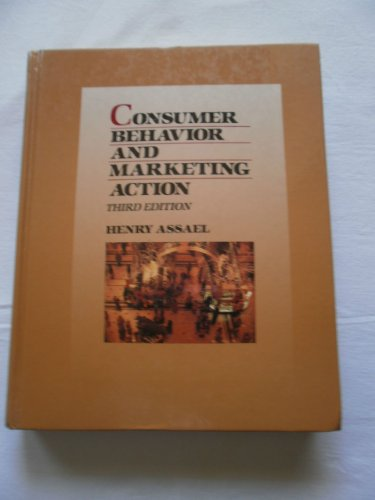 9780534075309: Consumer Behavior and Marketing Action