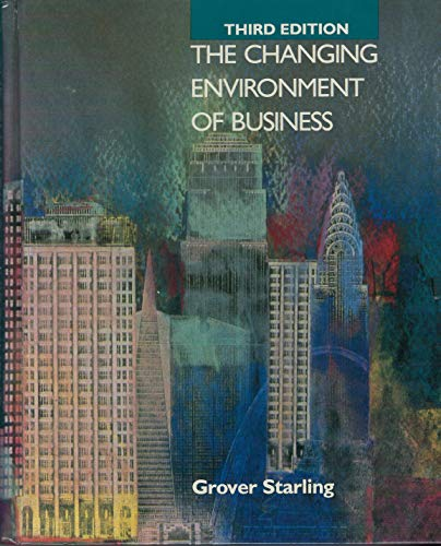 The Changing Environment of Business: a Managerial Approach