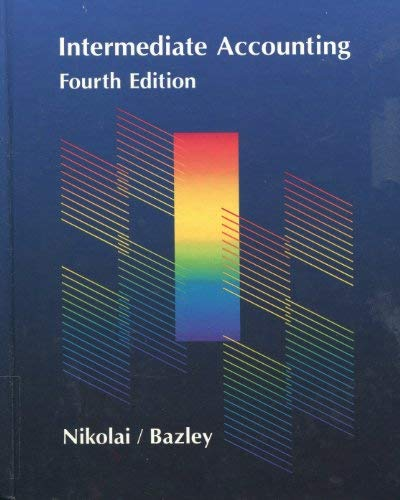 9780534077044: Intermediate Accounting