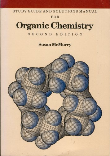 9780534079697: Study Guide and Solutions Manual for Organic Chemistry