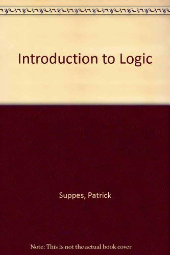9780534080723: Introduction to Logic