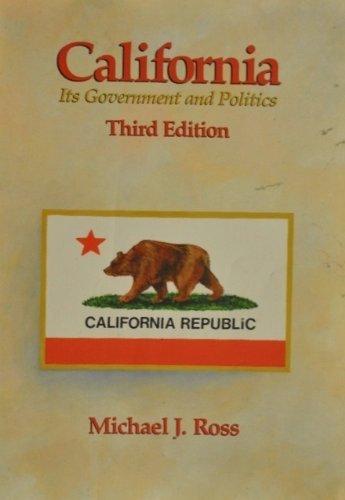 9780534084363: California Govrmnt Politics
