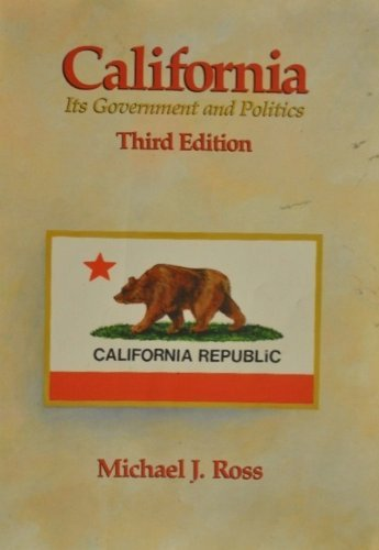 California Govrmnt Politics (0534084362) by ROSS