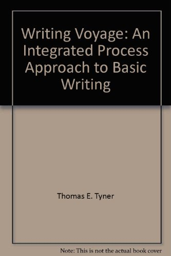 9780534085025: Writing voyage: An integrated, process approach to basic writing